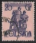 Sellos del Mundo : Europa : Polonia : Polish-Soviet brothers-in-arms