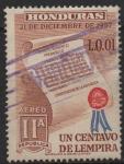 Stamps : America : Honduras :  CONSTITUCION  DE  LA  REPUBLICA
