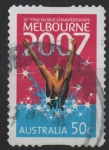 Sellos del Mundo : Oceania : Australia : 12th  FINA  CAMPEONES  MUNDIALES  DE  NATACION  DE  MELBOURNE