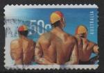 Sellos de Oceania - Australia -  CENTENARIO  DE  GRUPO  SALVAVIDAS  DE  SURF