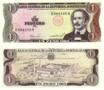 monedas de America - Rep Dominicana -  Peso
