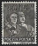 Sellos del Mundo : Europa : Polonia :  Trabajadores de la industia y la agricultura