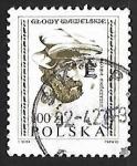 Sellos de Europa - Polonia -  Hombre con sombrero