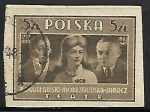 Stamps Poland -  Actores