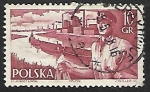 Stamps Poland -  Barcos