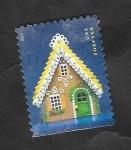 de America - Estados Unidos -  4644 - Casa de pan de jengibre