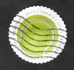 de America - Estados Unidos -  Pelota de tenis