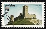 de Europa - Polonia -  Checiny Castle