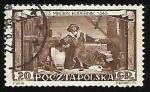 Sellos de Europa - Polonia -  Copernico