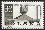 Stamps Poland -  Monumento en Kartuzy