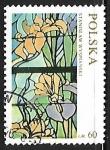 Stamps Poland -  Vidriera