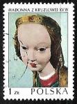 sello : Europa : Polonia : Kruzlowa Madonna, 1410