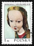 Sellos de Europa - Polonia -  Kruzlowa Madonna, 1410