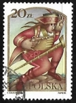 Stamps : Europe : Poland :  Cuento de Hadas