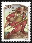 Stamps Poland -  Cuento de Hadas