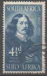 Stamps South Africa -  JAN  van  RIEBEEK