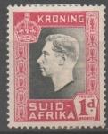 Sellos de Africa - Sudáfrica -  GEORGE  VI