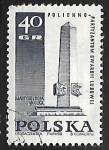 Sellos de Europa - Polonia -  Memorial a los participantes de la gurdia Ludowa