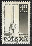 Stamps Poland -  Monumento en Lodz