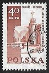 Stamps Poland -  Nazi War Crimes Memorial, Zamosc.