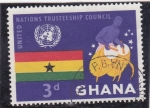 Sellos de Africa - Ghana -  NACIONES UNIDAS CONSEJO ADMINISTRATIVO