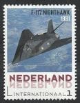 Sellos de Europa - Holanda -  Avión F-117 Nighthawk