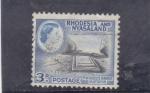 Stamps : Africa : Zimbabwe :  ISABEL II