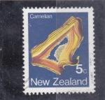 Sellos del Mundo : Oceania : Nueva_Zelanda : CARNELIAN