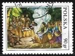 Sellos de Europa - Polonia -  Costumbres folcloricas