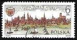 Sellos de Europa - Polonia -  750th Anniv. Of Torun Municipality