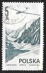 Stamps Poland -  Jantar glider