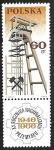 Stamps : Europe : Poland :  Industria Petroquímica   Plataformas Petrolíferas