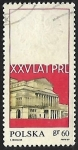 Stamps Poland -  Grant Theater, Warsaw