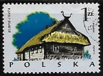 Stamps Poland -  Wooden Architecture