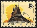 Stamps : Europe : Poland :  Casa Tipicas SEKOWA-KOSCIOL