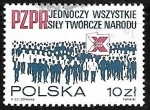 Stamps : Europe : Poland :  10th congreso Partidos Políticos