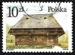 Stamps : Europe : Poland :  Casa Tipica