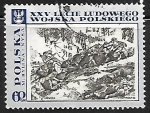 Stamps : Europe : Poland :  Battle on the Neisse, by M. Bylina