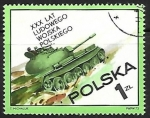 Stamps : Europe : Poland :  Tanque