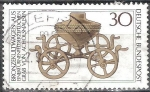 Sellos de Europa - Alemania -  Patrimonio Arqueológico.Bronce coche de culto.