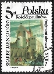 Stamps Poland -  The Paulinite Church on Skalka in Cracow