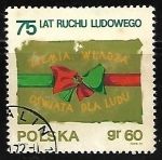 Stamps : Europe : Poland :  Peasant Movement Flag
