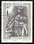 Stamps : Europe : Poland :  Mieszko I