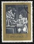 "Stamps : Europe : Poland :  ""New Don Quixote"" (ballet)"