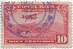 Stamps Costa Rica -  Aereo Y & T Nº 15