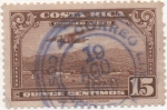 Stamps America - Costa Rica -  Aereo Y & T Nº 16