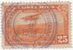 Stamps America - Costa Rica -  Aereo Y & T Nº 18