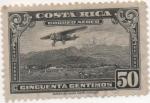 Sellos de America - Costa Rica -  Aereo Y & T Nº 20