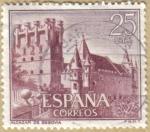 Stamps Spain -  Castillos de España - El Alcazar de Segovia