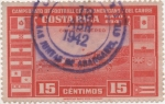 Stamps Costa Rica -  Aereo Y & T Nº 54   Football